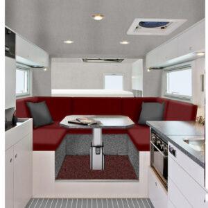 Polsterstoff für Caravan, Reisemobil